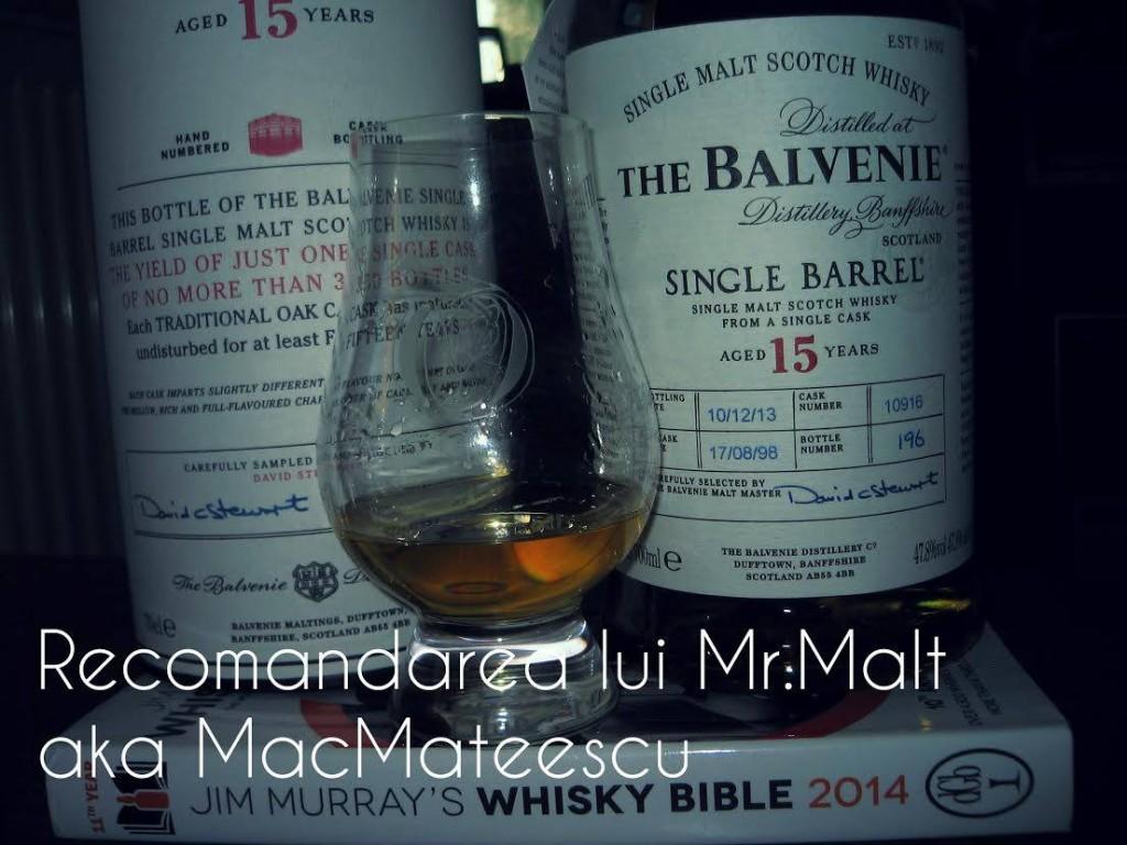 The Balvenie 15 YO