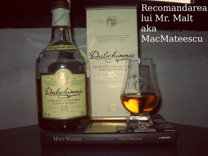 Dalwhinnie 15 YO MR Malt