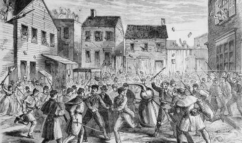 Războiul Whiskey-ului, un război care a lăsat Brooklyn-ul în ruine