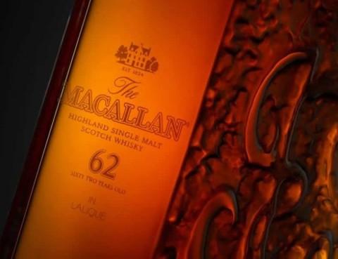 "Whisky vechi de 62 de ani de la Macallan, la ""doar"" 25000 de dolari"
