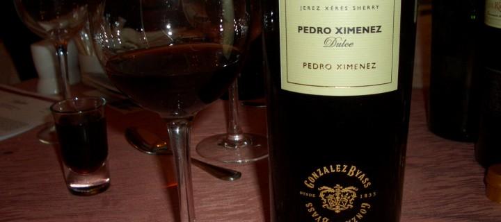 Gonzales Byass sherry Pedro Ximenez