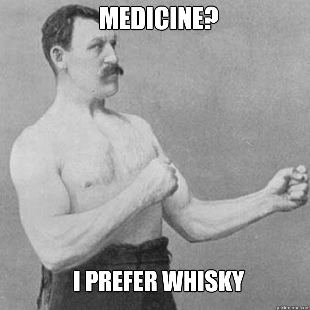 i prefer whisky